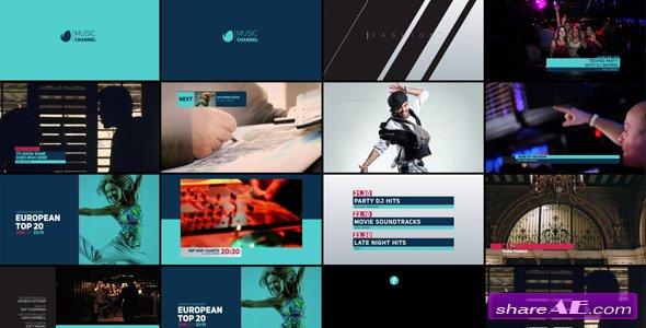Videohive TV Channel Rebrand