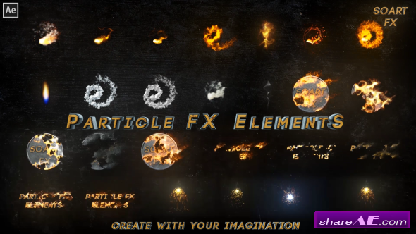 Videohive Particle FX Elements