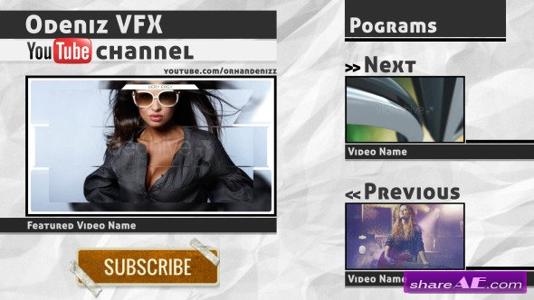 Videohive Youtube Channel ID Pack