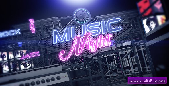 Videohive Music Night V.3