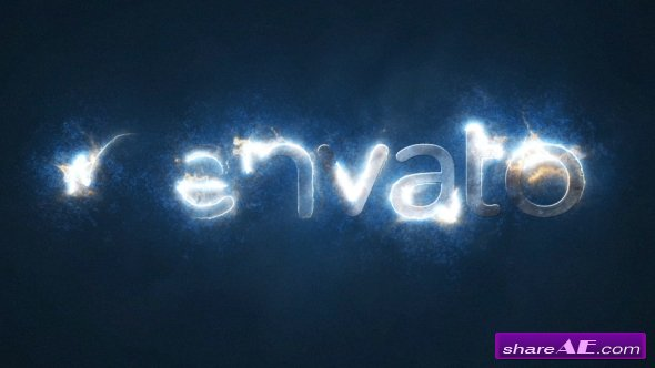 Videohive Electric Storm Light Logo