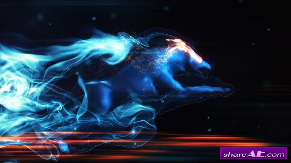 Videohive Mystic Wolf Reveal