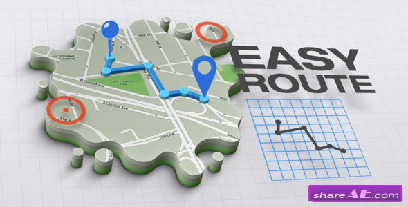 Videohive 3D Maps Creator v1.0.0 Infographics