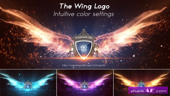 Videohive The Wing Logo