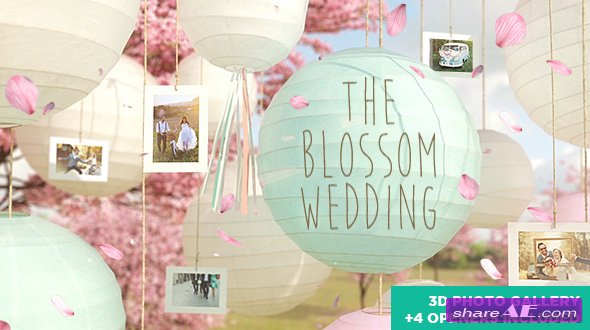 Videohive The Blossom Wedding - Photo Gallery Slideshow