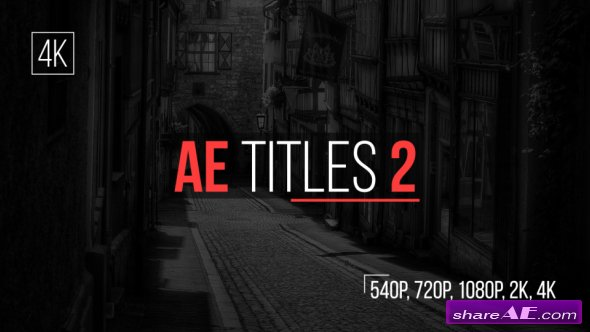 Videohive AE Titles 2