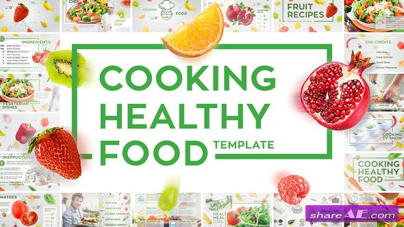 Videohive Cooking Healthy Food