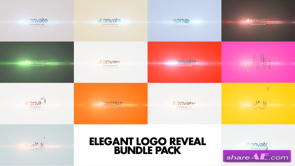 VVideohive Elegant Logo Reveal Bundle Pack