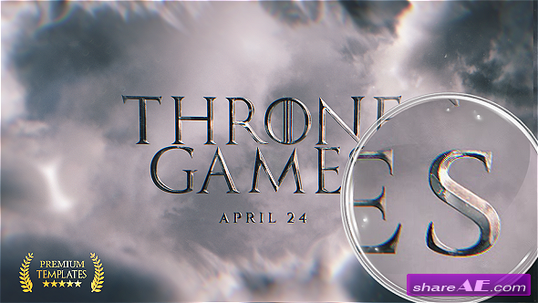 Videohive Throne Games Titles