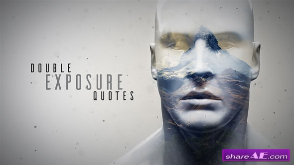 Videohive Double Exposure Quotes