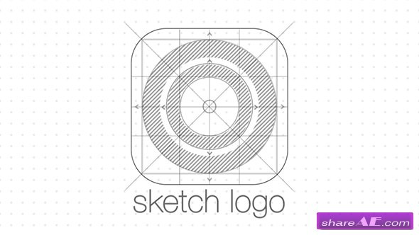 Videohive Sketch Logo Reveal