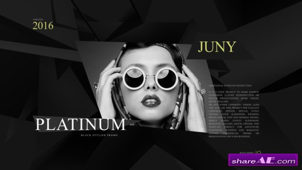 Videohive Platinum Fashion Promo