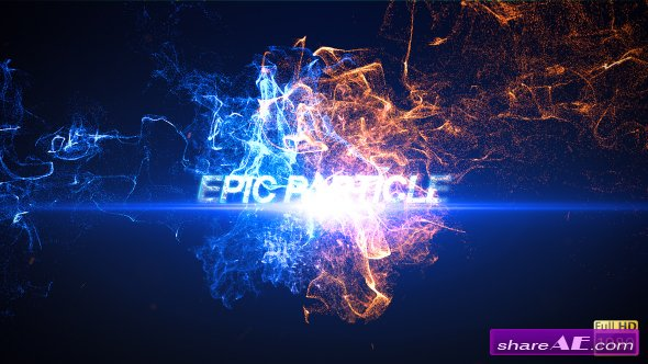 Videohive epic particle reveal free after effects for After effects cs4 intro templates free download