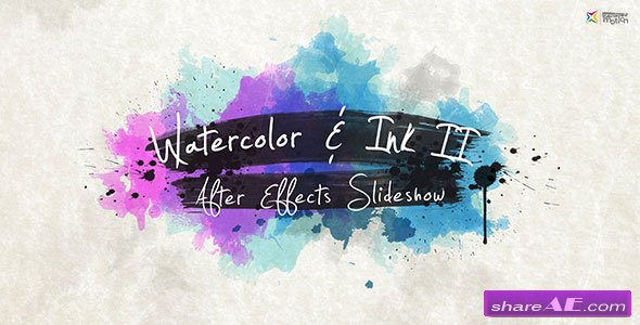 VIDEOHIVE Watercolor & Ink Slideshow 2
