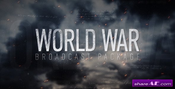Videohive World War Broadcast Package