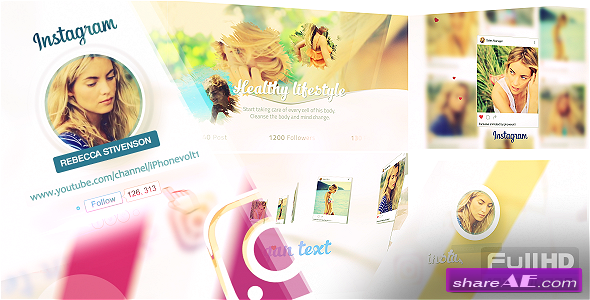 Videohive Instagram Promo 20219345 » free after effects