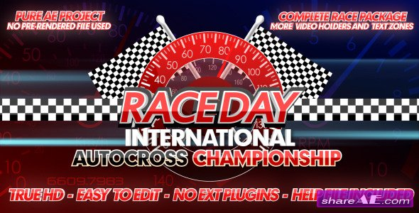Videohive Race Day