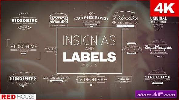 Videohive Insignias And Labels Pack