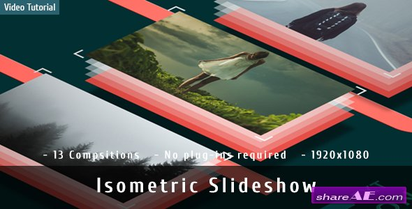 Videohive Isometric Slideshow