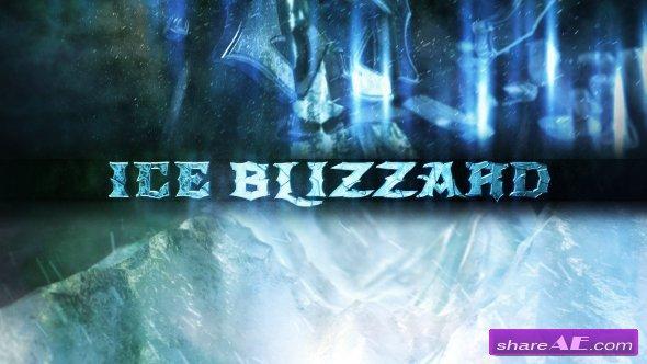 Videohive Ice Blizzard Logo