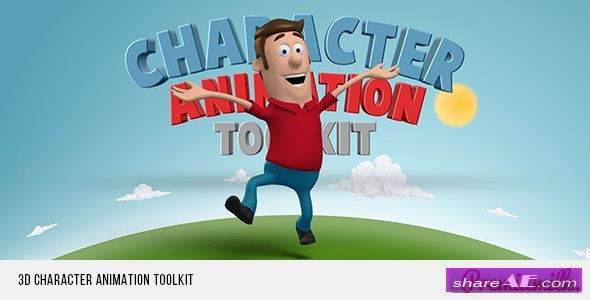 Videohive 3D Character Animation Toolkit