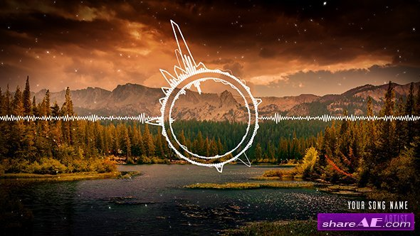 Videohive Clean Audio Spectrum Music Visualizer