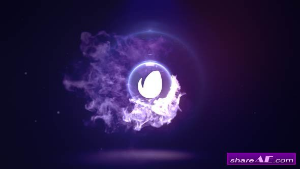 Videohive Fire Logo Reveal