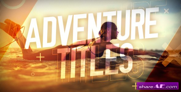Videohive Adventure Titles Slideshow