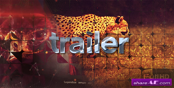 Videohive 3D Action Trailer