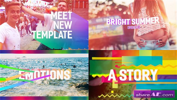 Videohive Bright Summer Opener