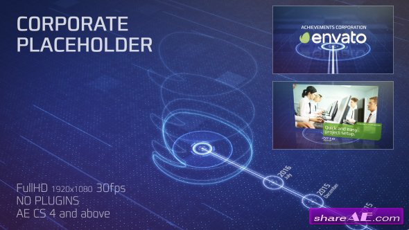 Videohive Placeholder For Achievements Corporation