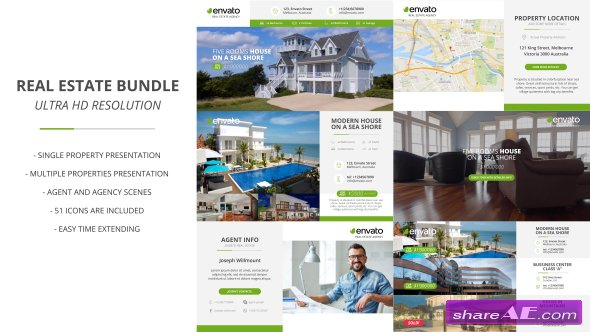 Videohive Real Estate Bundle