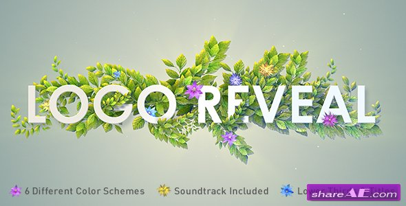 Videohive Nature Logo Reveal
