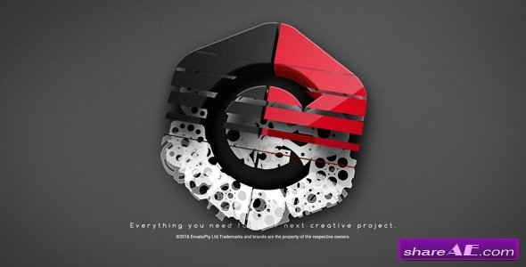 Videohive Gears Logo Ident
