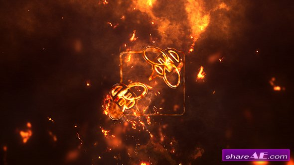 Videohive Logo Reveal Pack 5in1: Fire