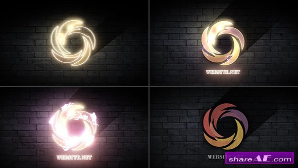 Videohive Energy Neon Sign
