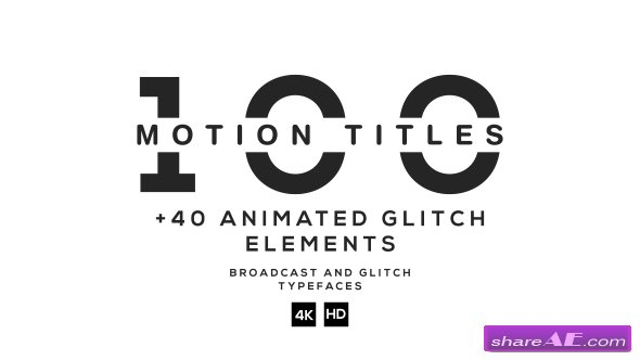 Videohive 100 Titles Ultimate Pack