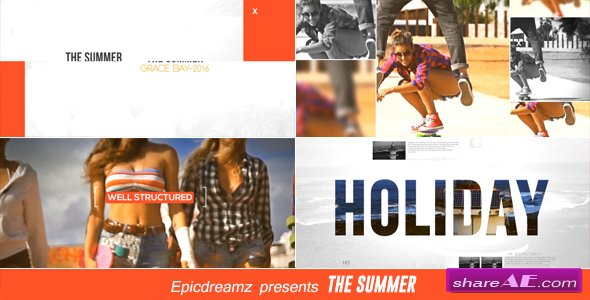 Videohive The Summer