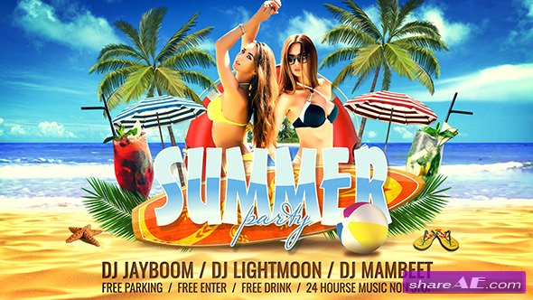 Videohive Summer Party