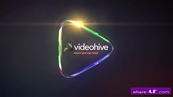 Videohive Glass Logo Reveal Pack