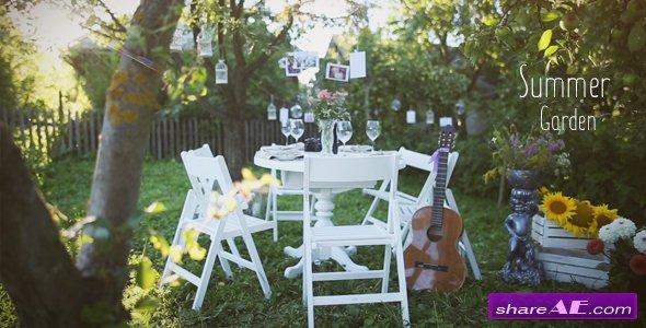 Videohive Photo Gallery - Summer Garden