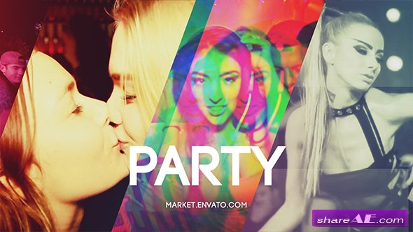 Videohive Slideshow Party