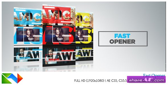 Videohive Fast Opener