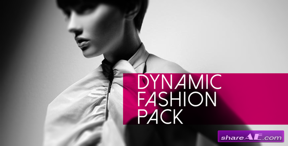 Videohive Dynamic Fashion Pack