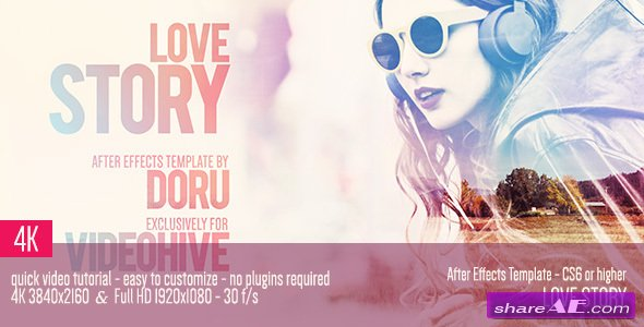 Videohive Love Story