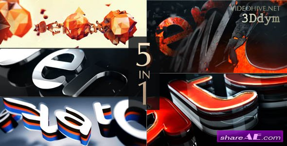 Videohive Logo Reveal Pack