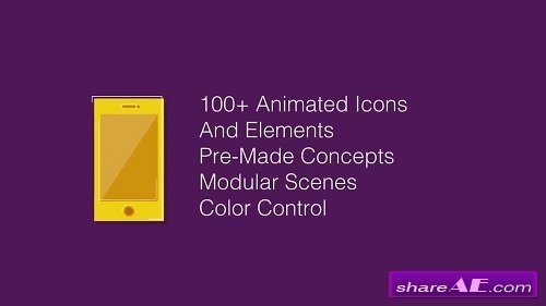 Animated Elements Toolkit - After Effects Project (Motion Array)