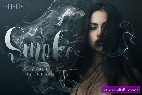 20 Smoke Video Overlays Pro - CreativeMarket