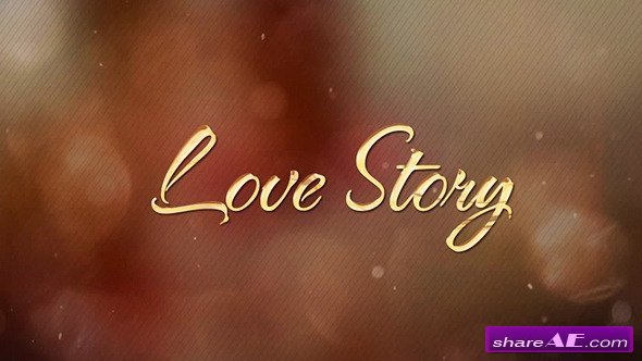 Videohive Untold Love Story - Romantic Slideshow