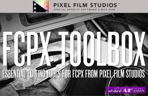 TOOLBOX 1 - Pro Editing tools for FINAL CUT PRO X